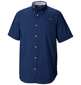 Men's PFG Harborside™ Woven Short Sleeve Shirt