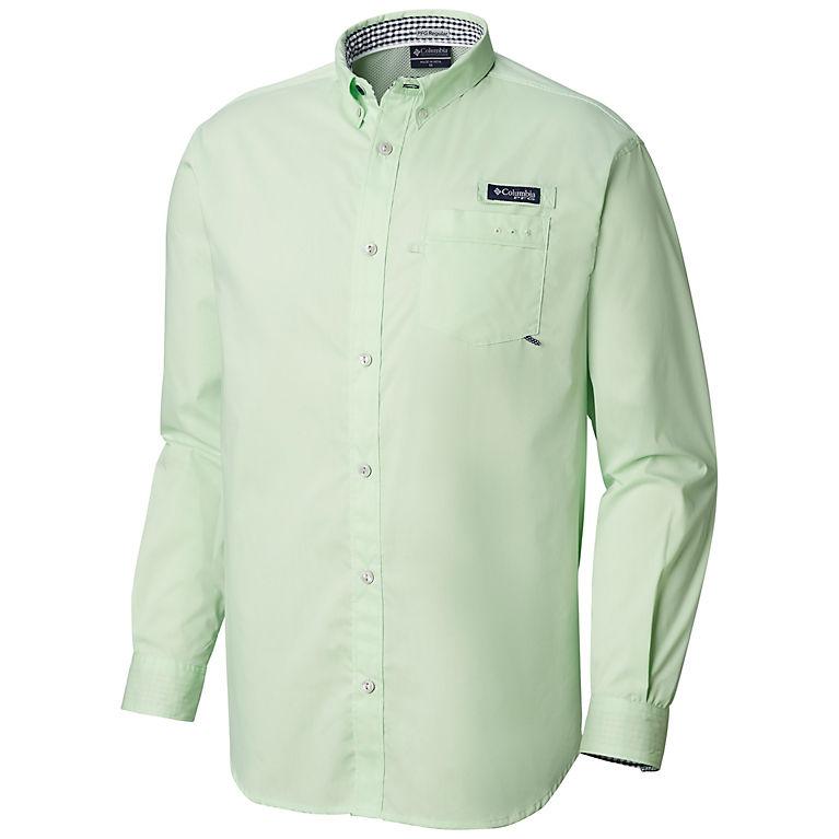 d27033cfcf1 Key West, Coll Navy Gingham Men's PFG Harborside™ Woven Long Sleeve Shirt,  View