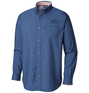 Men's PFG Harborside™ Woven Long Sleeve Shirt
