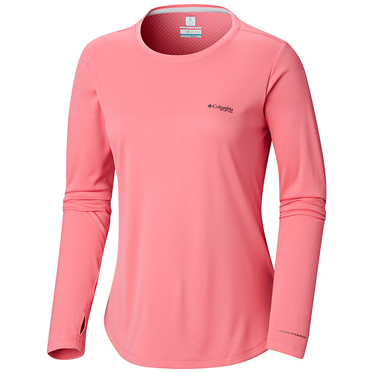 05678007322 Women's PFG Zero Long Sleeve Sun Shading Wicking Shirt | Columbia.com