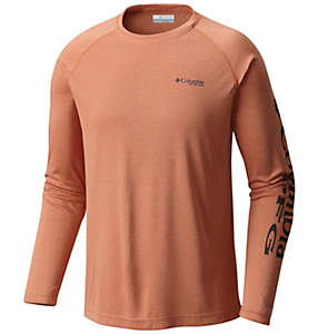 2a97bf4d Men's PFG Terminal Tackle™ Heather Long Sleeve Shirt