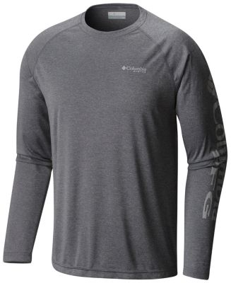 Men's Terminal Tackle™ Heather Long Sleeve Shirt | Tuggl