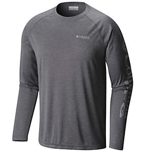 Men's PFG Terminal Tackle™ Heather Long Sleeve Shirt - Big