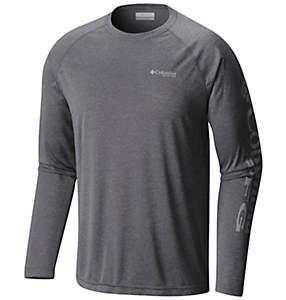 Men's PFG Terminal Tackle™ Heather Long Sleeve Shirt - Tall