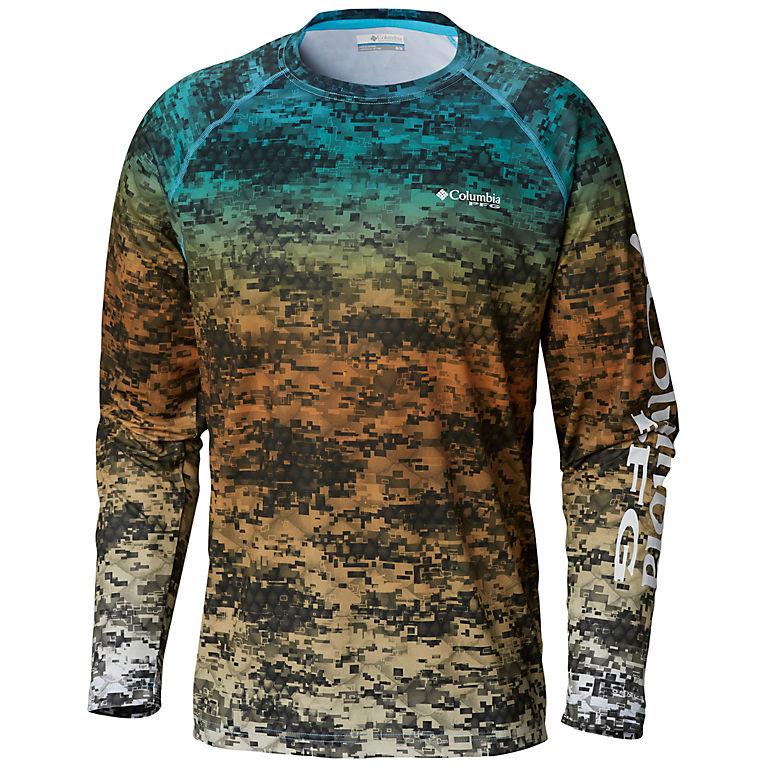 95f66a6d Riptide Digi Camo Fade Men's PFG Super Terminal Tackle™ Long Sleeve Shirt,  View 0
