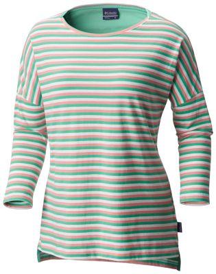 Women's PFG Harborside™ 3/4 Sleeve Shirt | Tuggl