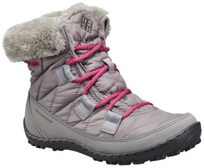 Youth Minx™ Shorty Omni-Heat™ Waterproof Boot at Columbia Sportswear in Oshkosh, WI | Tuggl