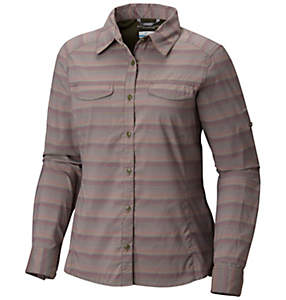 Chemise à carreaux à manches longues Silver Ridge™ Lite pour femme – Grande taille