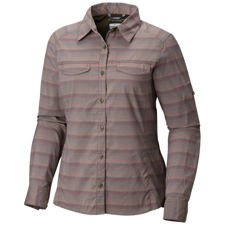 101c29ba00b Columbia | Women's Silver Ridge Lite Plaid Long Sleeve Shirt – Plus Size