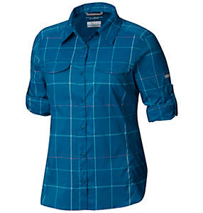 Women's Silver Ridge™ Lite Plaid Long Sleeve Shirt - Plus Size