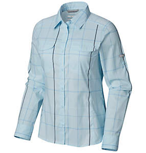 45de46f7bc8 Women's Silver Ridge™ Lite Plaid Long Sleeve Shirt – Plus Size