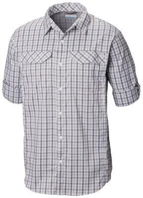 a88a7230 Columbia   Men's Silver Ridge Lite Plaid Long Sleeve Wicking Venting Shirt