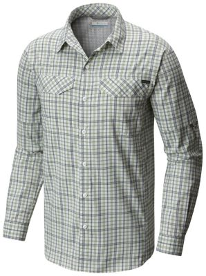 Men's Silver Ridge Lite Plaid™ Long Sleeve Shirt | Tuggl