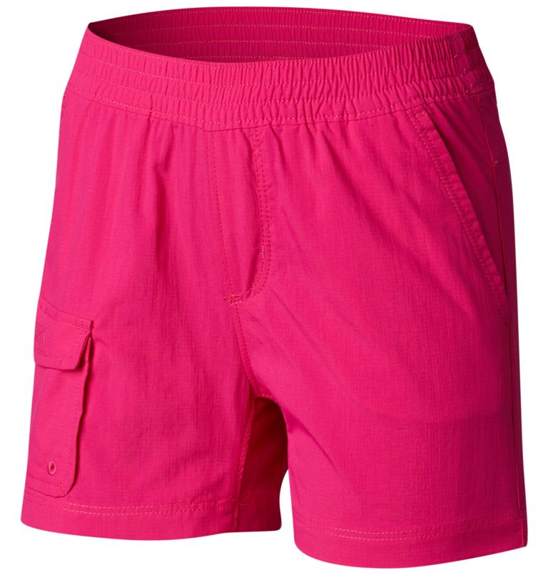 Girls' Silver Ridge™ Pull-On Short Girls' Silver Ridge™ Pull-On Short, front
