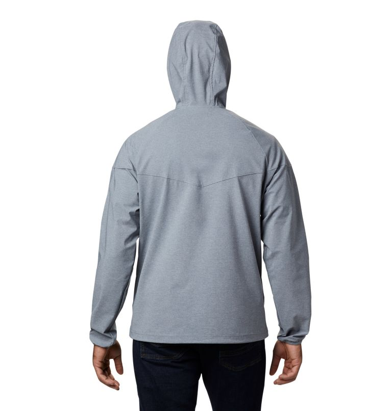 Men's Heather Canyon™ Softshell Jacket Men's Heather Canyon™ Softshell Jacket, back
