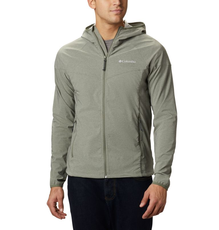 Men's Heather Canyon™ Softshell Jacket Men's Heather Canyon™ Softshell Jacket, front