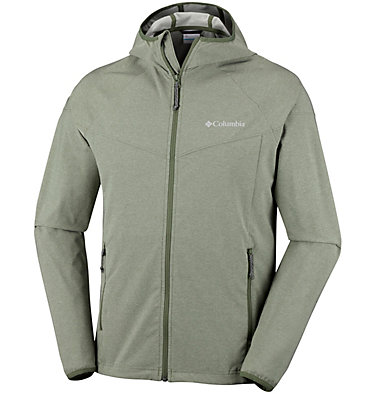 Men's Heather Canyon™ Softshell Jacket – Extended Sizes , front