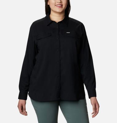 Women's Silver Ridge™ Lite Long Sleeve Shirt - Plus Size | Tuggl
