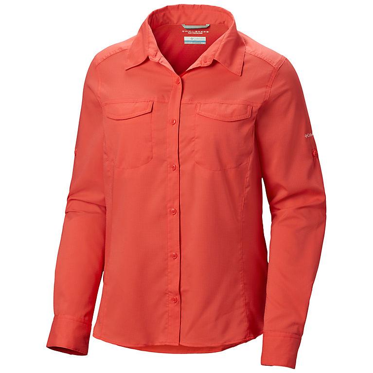 9cf099d861f Red Coral Women's Silver Ridge™ Lite Long Sleeve Shirt - Plus Size, View 0