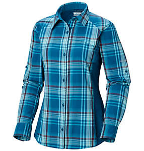 Women's Silver Ridge™ Plaid II Long Sleeve Shirt