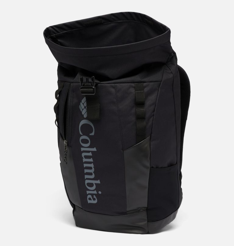 Convey™ 25L Rolltop Daypack   011   O/S Unisex Convey™ 25L Rolltop Daypack, Black, Black, a1