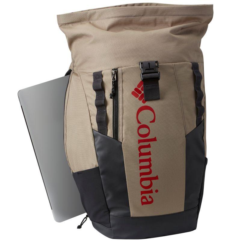 Convey™ 25L Rolltop Daypack   221   O/S Sac À Dos Avec Fermeture Par Enroulement 25 Litres Convey Unisexe, Tusk, Red Spark, a1