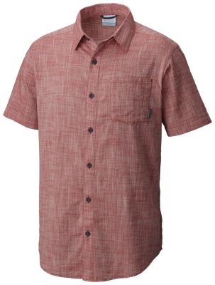 Men's Under Exposure™ Yarn-Dye Short Sleeve Shirt | Tuggl