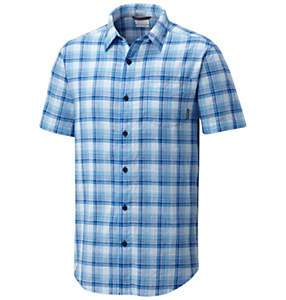 Men's Under Exposure™ Yarn Dye Short Sleeve Shirt – Big