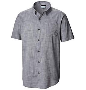 Men's Under Exposure™ Yarn Dye Short Sleeve Shirt - Tall