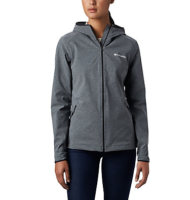 Women's Heather Canyon™ Softshell Jacket , front