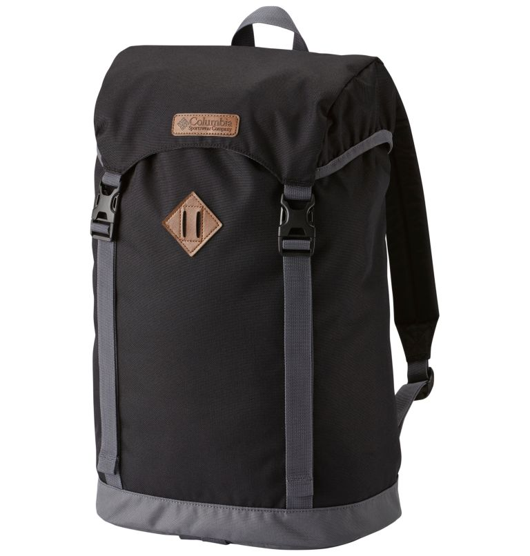 Classic Outdoor™ 25L Daypack   010   O/S Sac À Dos 25L Classic Outdoor™ Unisexe, Black, Graphite, front