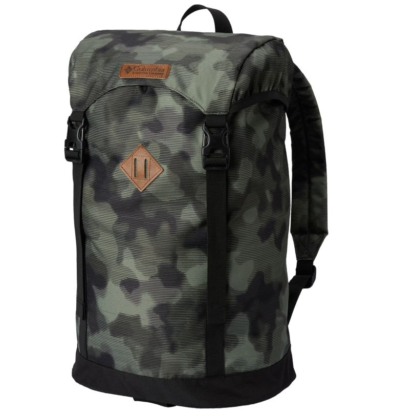 Classic Outdoor™ 25L Daypack | 214 | O/S Sac À Dos 25L Classic Outdoor™ Unisexe, Peatmoss Lined Camo Print, front