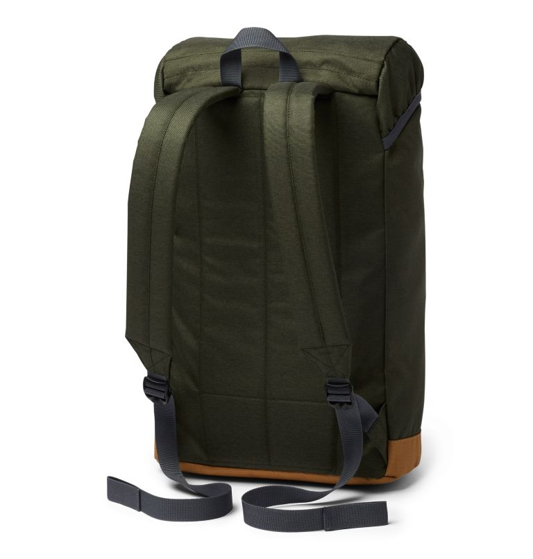 Classic Outdoor™ 25L Daypack | 347 | O/S Sac À Dos 25L Classic Outdoor™ Unisexe, Surplus Green Heather, Maple, back