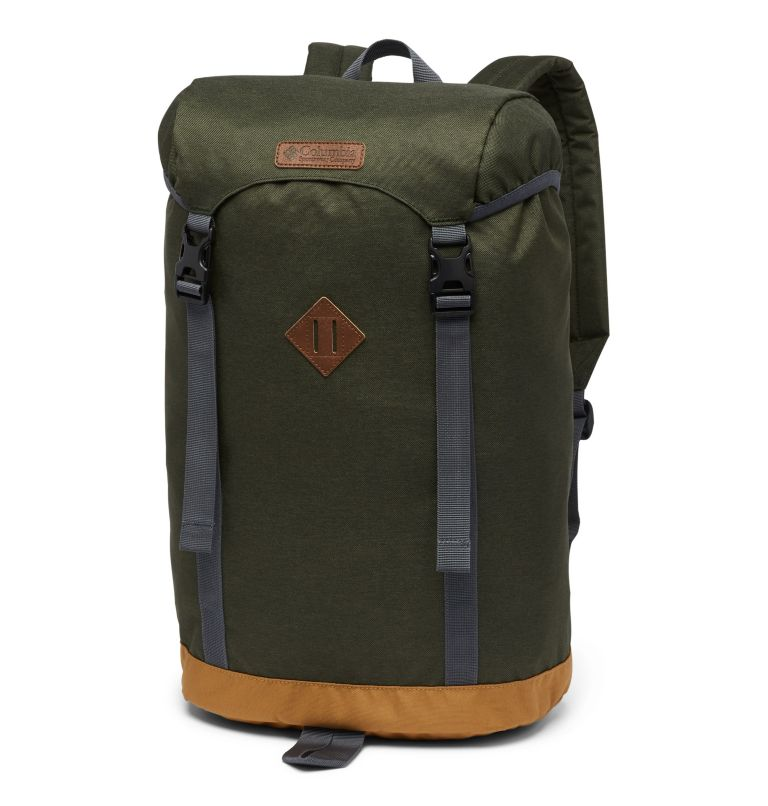 Classic Outdoor™ 25L Daypack | 347 | O/S Sac À Dos 25L Classic Outdoor™ Unisexe, Surplus Green Heather, Maple, front