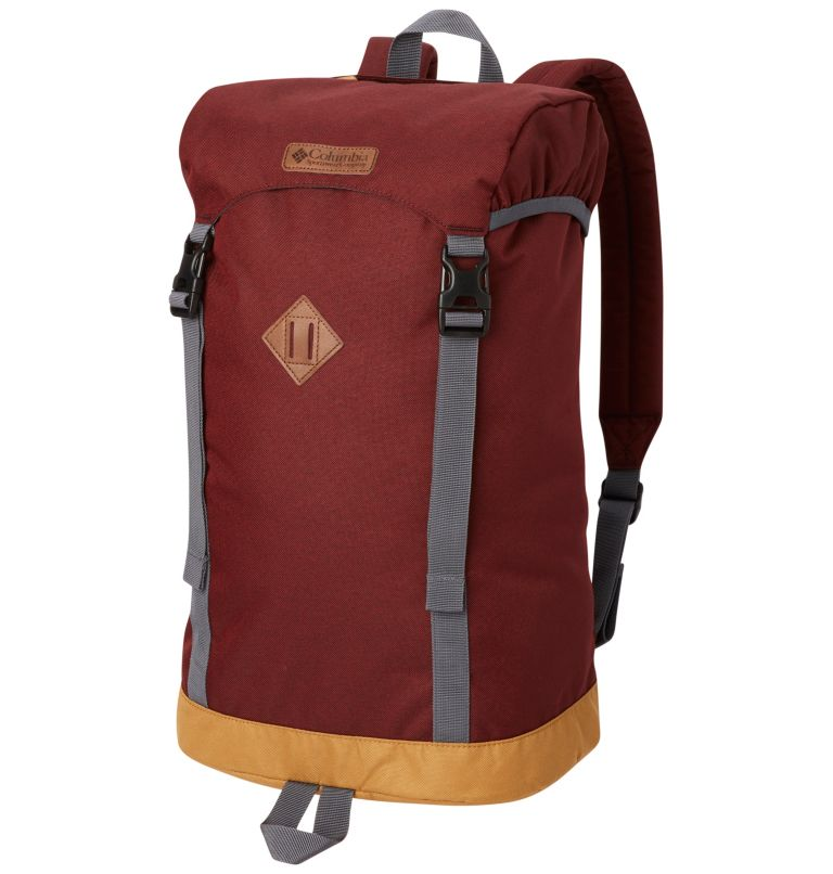 Classic Outdoor™ 25L Daypack | 469 | O/S Unisex Classic Outdoor™ 25L Daypack, Carbon, Woodgrain Print, front