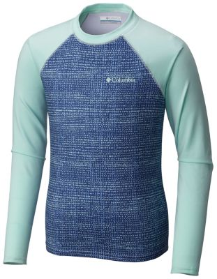 Youth Mini Breaker™ Printed Long Sleeve Sunguard at Columbia Sportswear in Oshkosh, WI | Tuggl