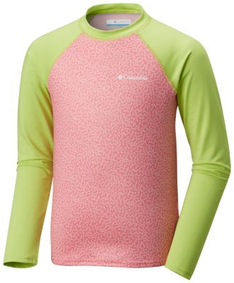 Kids' Mini Breaker™ Printed Long Sleeve Sunguard | Tuggl