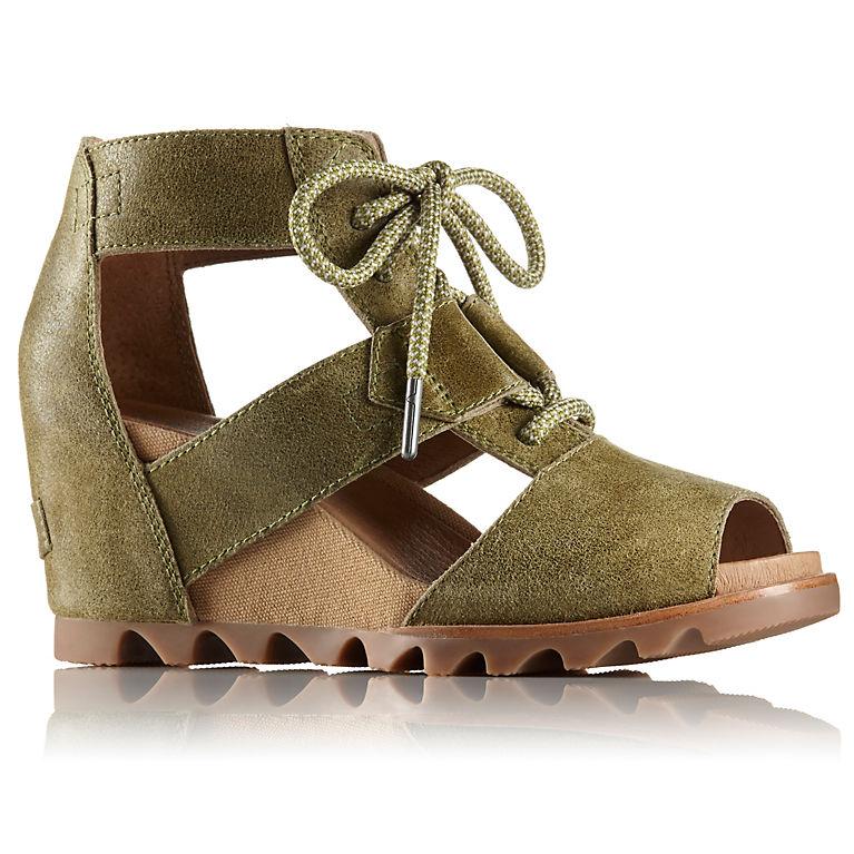 0eca9abf015d Olive Drab Women s Joanie™ Lace Wedge Sandal
