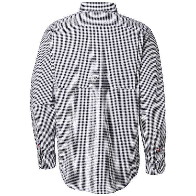 537c9e414c7 Dark Mountain Gingham Men's PFG Super Harborside™ Woven - Slim Fit, ...
