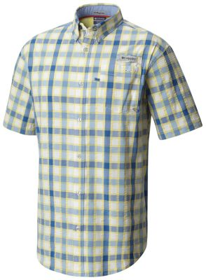 Men's Super Harborside™ Woven Short Sleeve Shirt | Tuggl