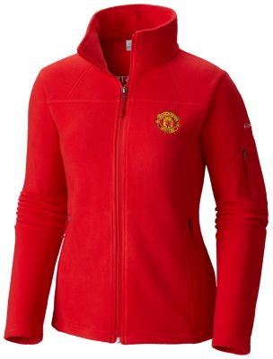 Women's Fast Trek™ II Full Zip Fleece Jacket - Manchester United | Tuggl