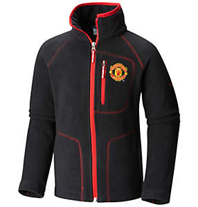 Fast Trek™ II Full Zip für Kinder-Manchester United