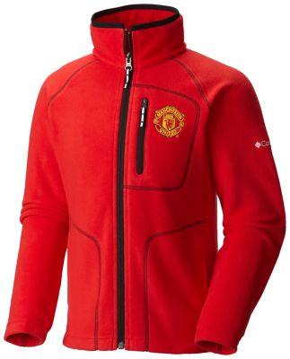 Youth Fast Trek™ Full Zip Fleece Jacket - Manchester United | Tuggl