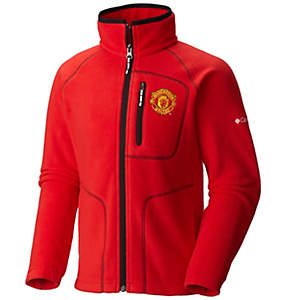Youth Fast Trek™ Full Zip Fleece Jacket - Manchester United