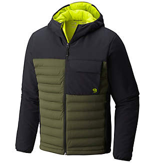 Men's StretchDown™ HD Hooded Jacket