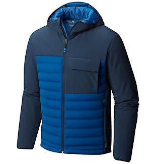 Men's StretchDown™ HD Hooded Jacket