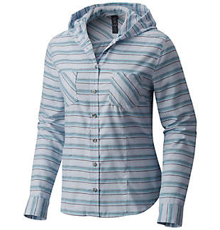 Women's Acadia Stretch™ Hooded Long Sleeve Shirt