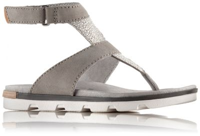 c3fc0da5827 Women s Torpeda Leather Ankle Strap Thong Sandal