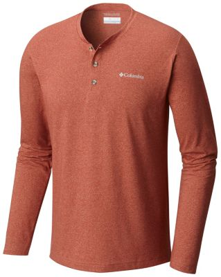 Men's Cullman Crest™ Long Sleeve Henley by Columbia Sportswear