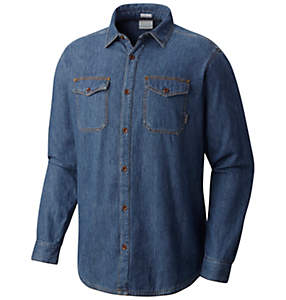 Men's Pilot Peak™ Flannel Lined Denim Shirt